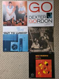 Jazz Vinyl records.