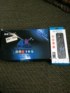 Int Pro Android TV Box new