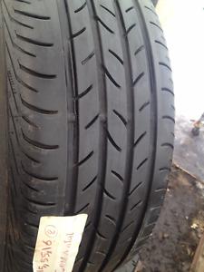 2 Continental Summer tires Summer tires 215/55/16