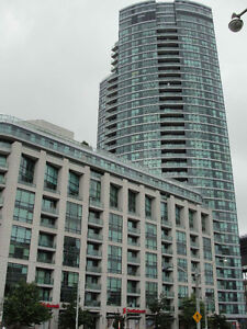 Furnished Bachelor Condo Downtown Toronto from 1st September