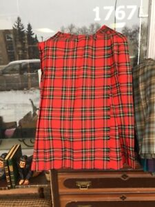 Ladies Tartan Scottish Kilt Skirt $65.
