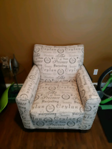 Oversized Cream color Chair