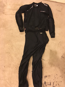 Bohn Armour motorcycle jacket and pants