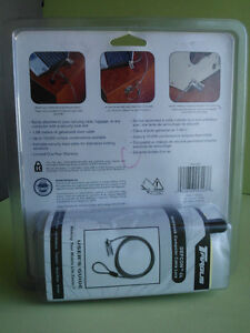 TARGUS DEFCON CL NOTEBOOK SECURITY COMBO CABLE LOCK London Ontario image 2