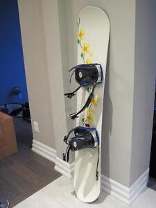 Women's Morrow board and K2 bindings - 146cm