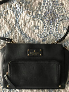 Grey Authentic Kate Spade Crossover bag