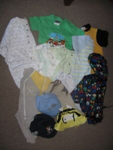 Baby Boy Clothing Size 12 Months