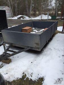 Big utility trailer