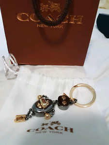 Coach bag charm never used