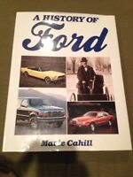A History of Ford Hardcover Book