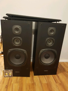 Audio system speaker, amplifier, tuner and CD player