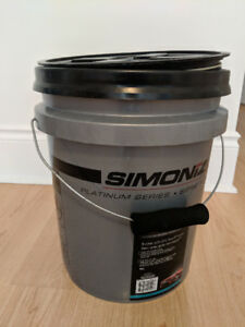 Simoniz Platinum 5 Gallon Bucket w/ Grit Guard + Seal Lid