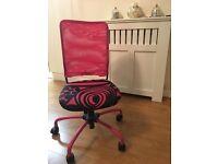 Pink\Black chair