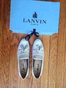 Women's Lanvin tassel loafers - size 38