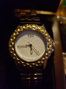 ESQUIRE GOLF BALL WATCH LTD EDITION