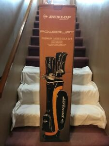 Brand NEW set of Ladies Dunlop RH Golf clubs
