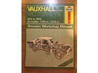 Vauxhall Victor & VX Haynes Manual