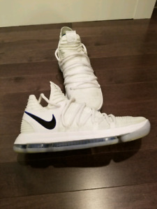 Mens 9.5 Nike KD 10 Golden State Warriors Edition