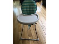 Mothercare brand high chair -£20 ONO