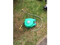 Hose - 10m autoreel hozelock hose and wall mount