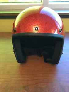 Trendy red DAYTONA Cruiser helmet - NEW