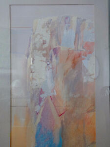 PROFESSIONALLY FRAMED ABSTRACT ART - ORIGINAL PAINTING Oakville / Halton Region Toronto (GTA) image 2