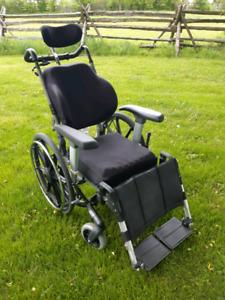 Tilt/Recline Wheelchair