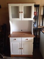 Microwave holder and cupboard piece for sale