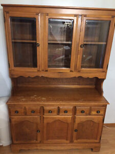 dining room two piece Hutch $150.00 or best cash offer