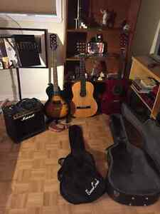 Full Guitar Lot EVERYTHING you need! Great Christmas Gift!