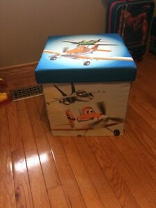 Airplanes blanket or toy box