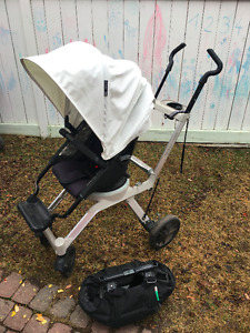 Orbit Stroller G2 base with new G3 seat + orbit gears