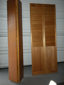 BI FOLD DOORS -  2 vented - 2 solid