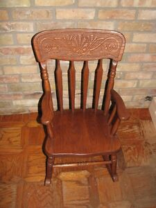 Rocking Chair Childs Solid Oak