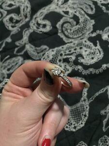 White Gold Engagement Ring  London Ontario image 4