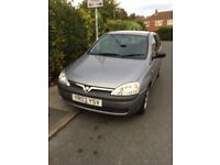 Corsa 03 plate spares or repairs