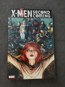 Xmen Second Coming graphic novel