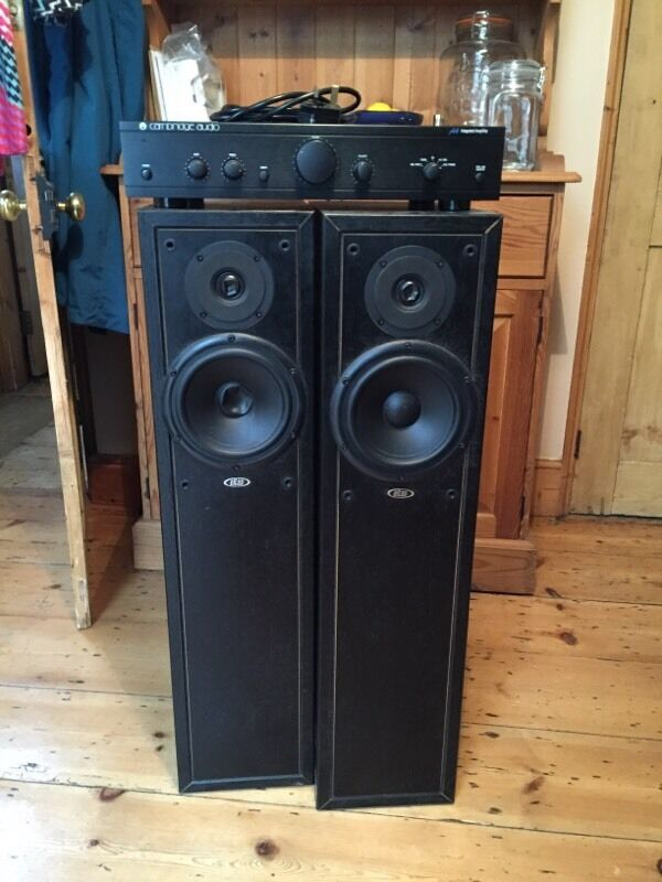Cambridge Audio Amp Amp Eltax Liberty 5 Speakers In