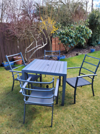 LG Milano garden table and chairs