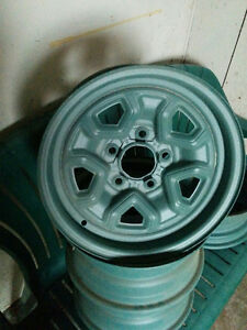 4 GM Stock Rims