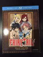 Fairy Tail Collection One - Blu-Ray & DVD Combo Pack