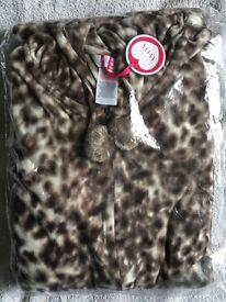 Women's leopard print onesie size 16-18 BRAND NEW