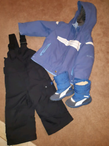 Toddler 2pc winter suit size 2T
