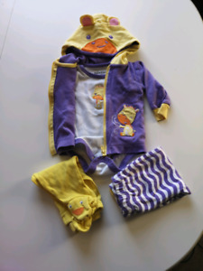 Girls 3 month playschool outfit