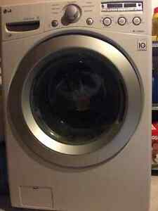 LG Front Loading Electric Washer & Dryer
