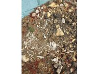 FREE! Mixture of rocks soil and stones
