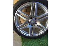 """18""""AMG wheels"""
