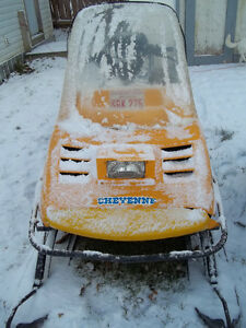 91 cheyenne ski doo,..(located in STEPHENVILLE).