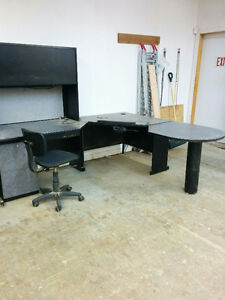 DESK WITH HUTCH-BEST OFFER Peterborough Peterborough Area image 2