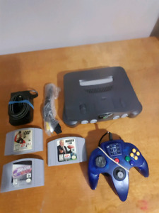 N64 and games / controller